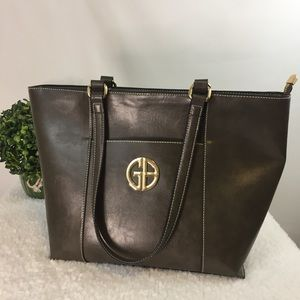 Giani Bernini Glazed Tote